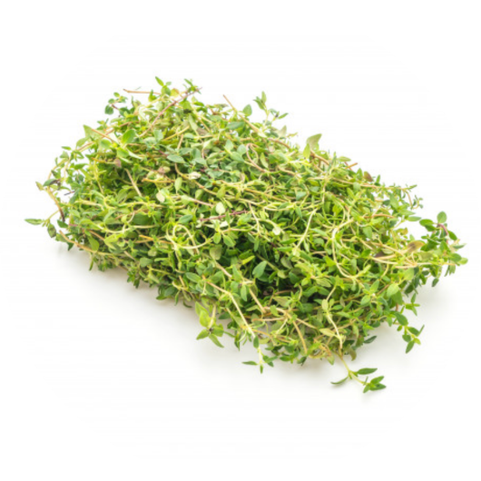 ThymeBeing high in antioxidants, Thyme can get rid of free radicals